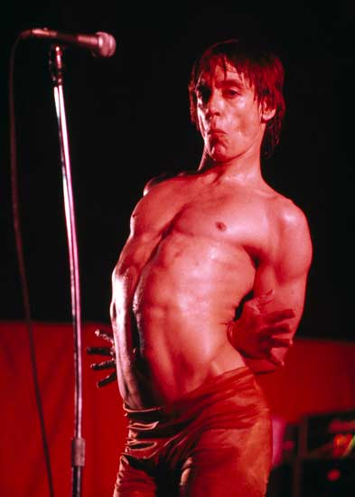 Guido Harari, Iggy Pop, Parma, Palasport, 28 maggio 1979 - copyright Guido Harari