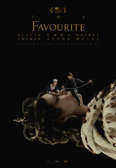 il poster ufficiale del film La Favorita
