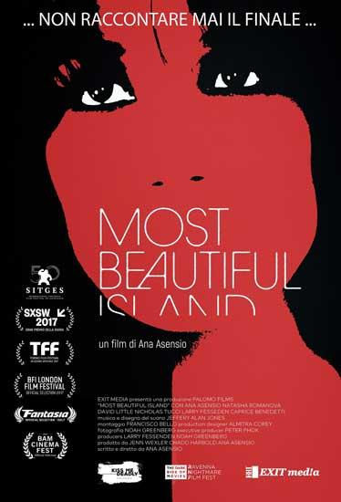 la locandina italiana del film Most beautiful Island