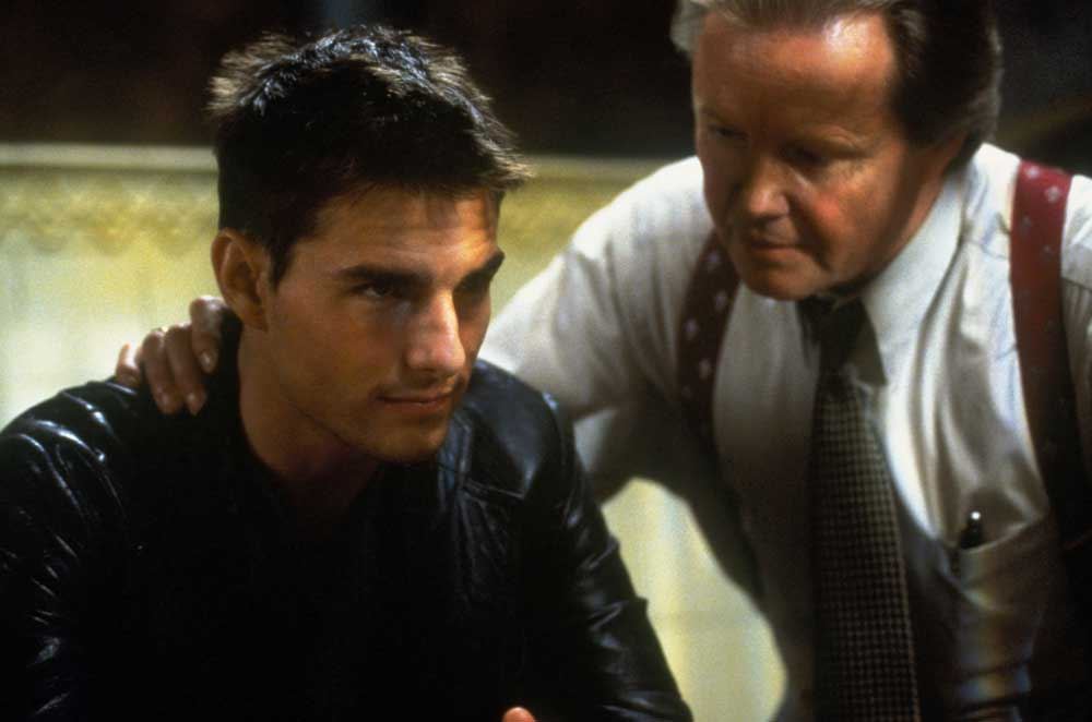 Tom Cruise e Jon Voight in una scena di Mission Impossible - Photo: courtesy of Universal Pictures Home Entertainment