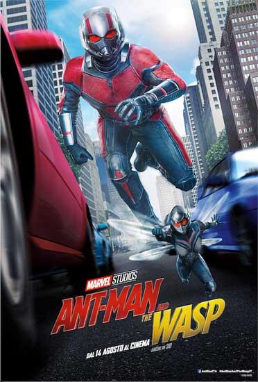 La locandina italiana del film Ant-man and the Wasp