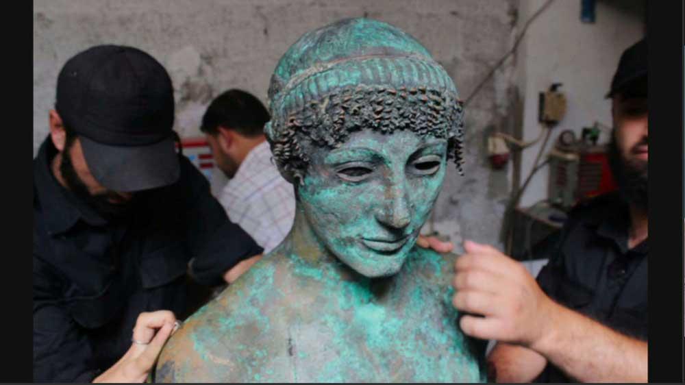 un'immagine del film L'Apollon de Gaza - Photo: courtesy of Locarno Festival