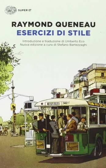 la copertina del libro Esercizi di stile