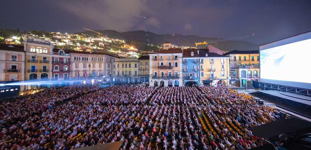 il pubblico di Piazza Grande durante il Locarno Festival 2018 - Photo: Locarno Festival/ Massimo Pedrazzini