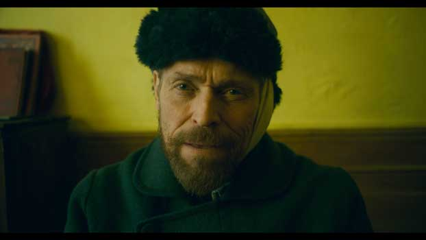 Willem Dafoe in una scena del film At eternity's Gate - Photo: courtesy of Lucky Red