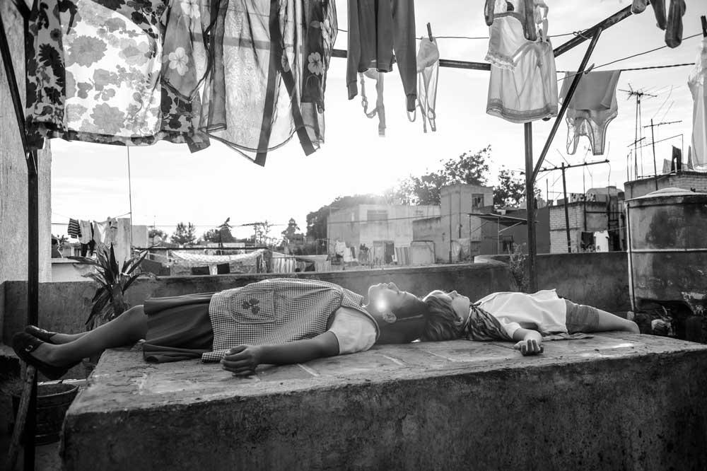 un'immagine del film Roma di Alfonso Cuaron - Photo: courtesy of Biennale