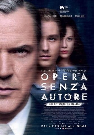La locandina italiana del film Opera senza autore
