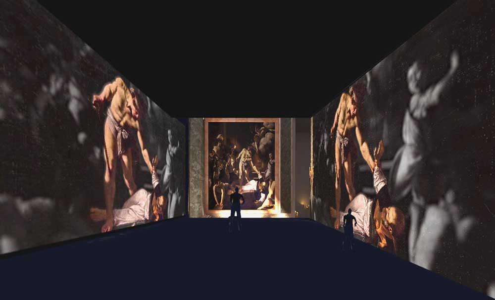 Caravaggio Oltre la tela: il Martirio di San Matteo