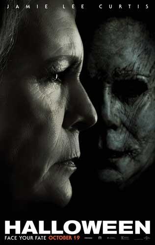 la locandina del film Halloween (2018)
