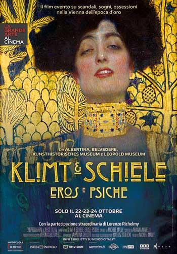 la locandina del film Klimt e Schiele Eros e Psiche