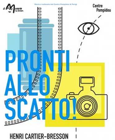 il poster della mostra Pronti allo scatto! Henri Cartier-Bresson