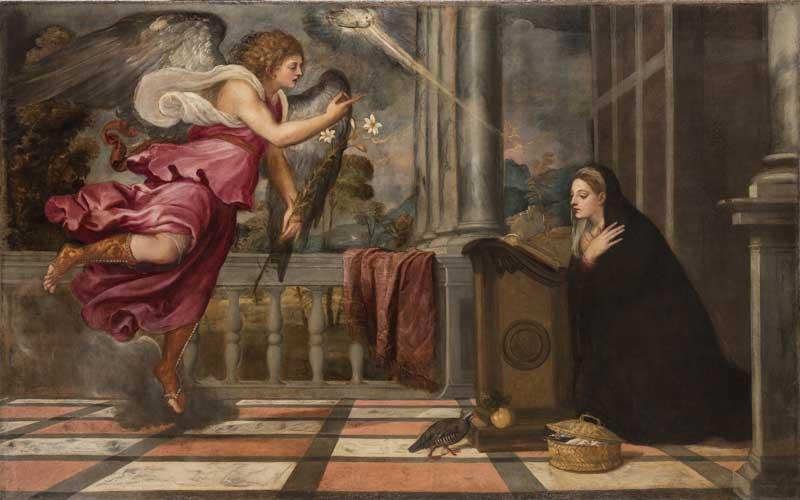 Tiziano Vecellio, Annunciazione, 1539