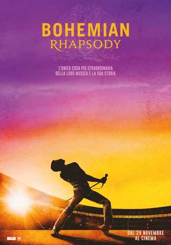 Bohemian Rhapsody locandina ita