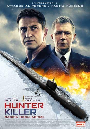 la locandina italiana del film Hunter Killer