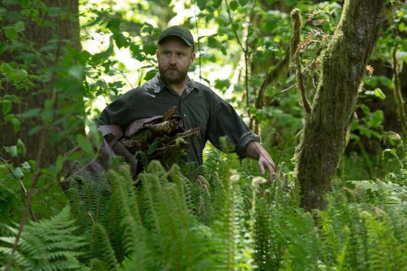 Ben Foster in una scena del film Senza lasciare traccia - Photo: courtesy of Adler Entertainment