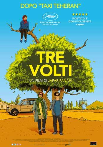 La locandina italiana del film Tre Volti