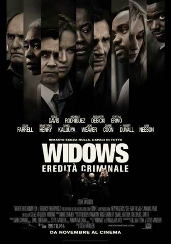 la locandina italiana del film Widows