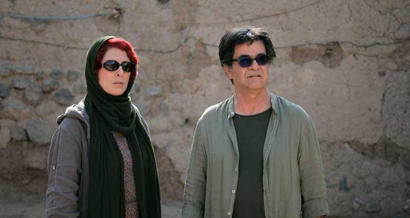 Behnaz Jafari e Jafar Panahi nel film Tre Volti - Photo: courtesy of CINEMA srl