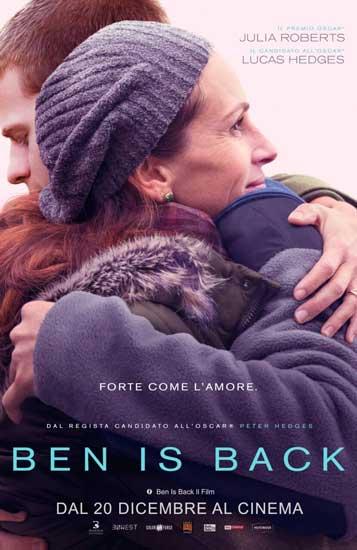 Ben is Back poster film
