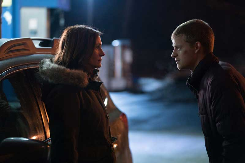 Julia Roberts e Lucas Hedges in una scena del film Ben is Back - Photo courtesy of Notorious Pictures