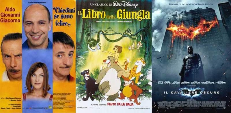 film Disney e classici da non perdere in televisione ad inizio anno