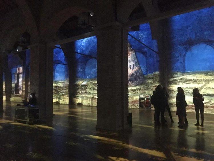 L'allestimento di Bosch, Brueghel, Arcimboldo - Una mostra spettacolare