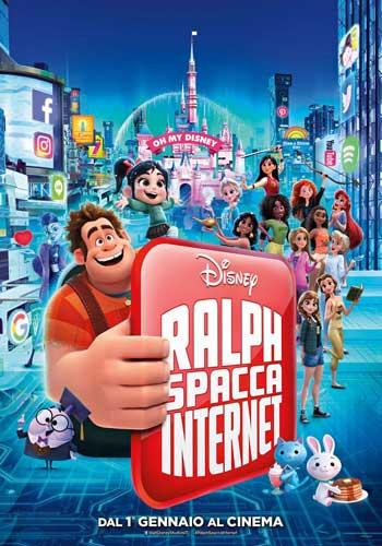 La locandina italiana del film Ralph spacca internet