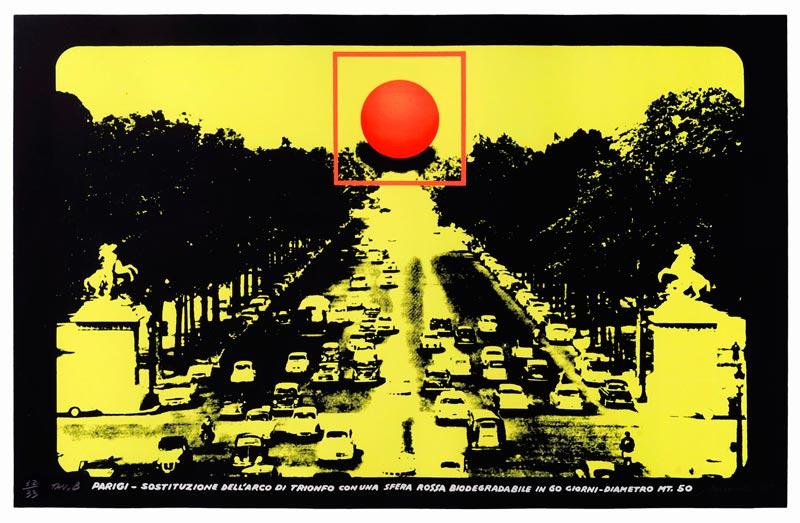 REALITY 80 - Filippo Panseca, Progetto per monumento biodegradabile, 1976