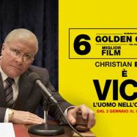 VICE - L'UOMO NELL'OMBRA è un Dick Cheney nominato a 6 Golden Globes