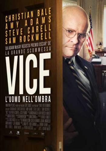 il poster italiano del film Vice - L'uomo nell'ombra