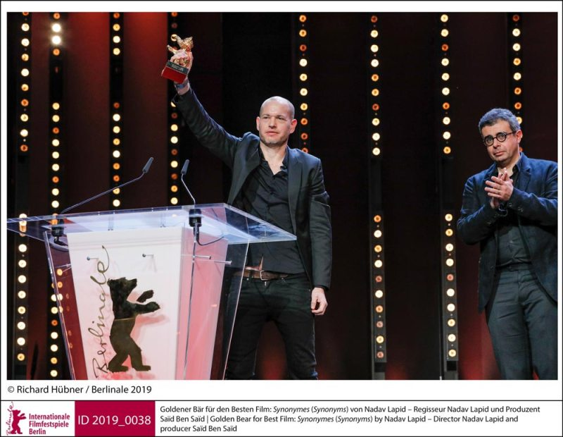 I vincitori della Berlinale 2019: Nadav Lapid © Richard Hubner/ Berlinale 2019