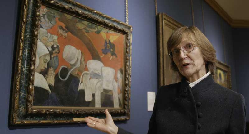 Belinda Thomson in una scena del documentario - Photo: courtesy of Nexo Digital