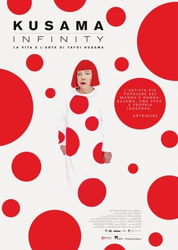 Kusama - Infinity poster film