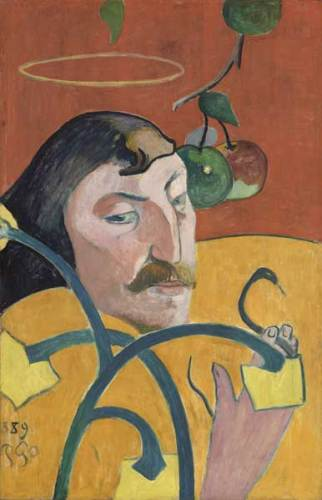 Paul Gauguin, Self Portrait (1889) - Photo: courtesy of Nexo Digital