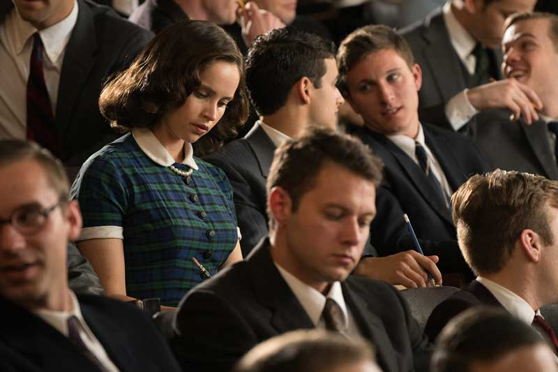 Felicity Jones nel film Una giusta causa - Photo: courtesy of Videa