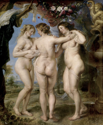 Le tre Grazie di Rubens - Photo: courtesy of Nexo Digital