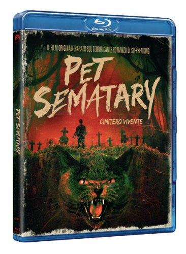 Pet Sematary - Cimitero Vivente (1989) cover blu-ray