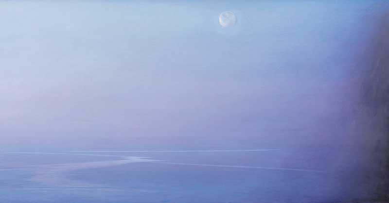 Piero Gruccione, Il nero e l'azzurro, 2003 - Ph: Museo d'arte Mendrisio