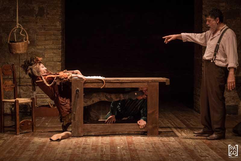 LA NOTTE DI PINOCCHIO con Carlo Valli al Teatro Delfino