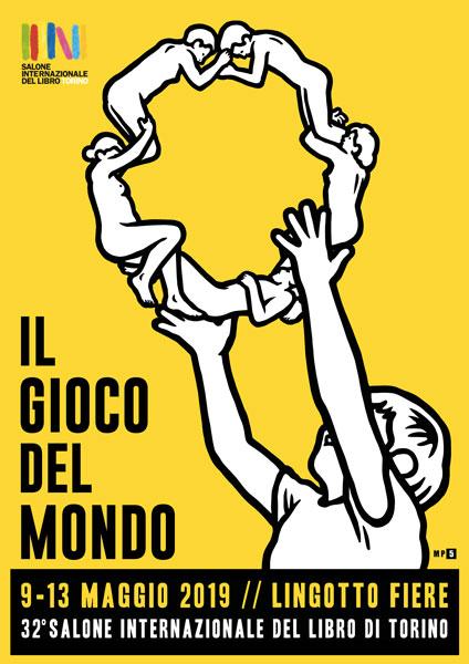 Salone del Libro di Torino 2019 il poster di MP5