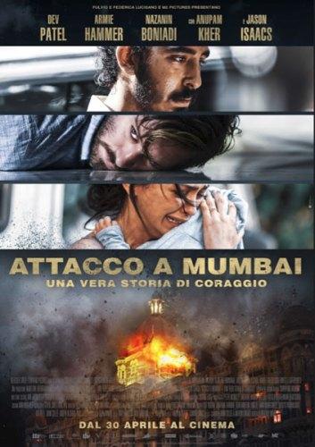 La locandina italiana del film Attacco a Mumbai