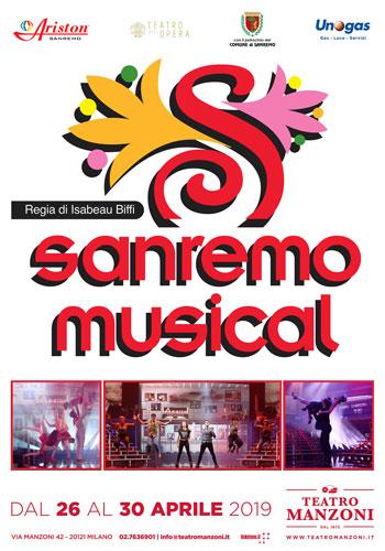 Sanremo musical al teatro Manzoni poster