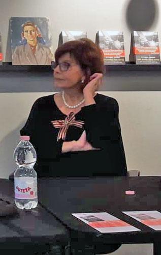 Ritanna Armeni alla presentazione del suo libro - Ph: Sarah Pellizzari Rabolini