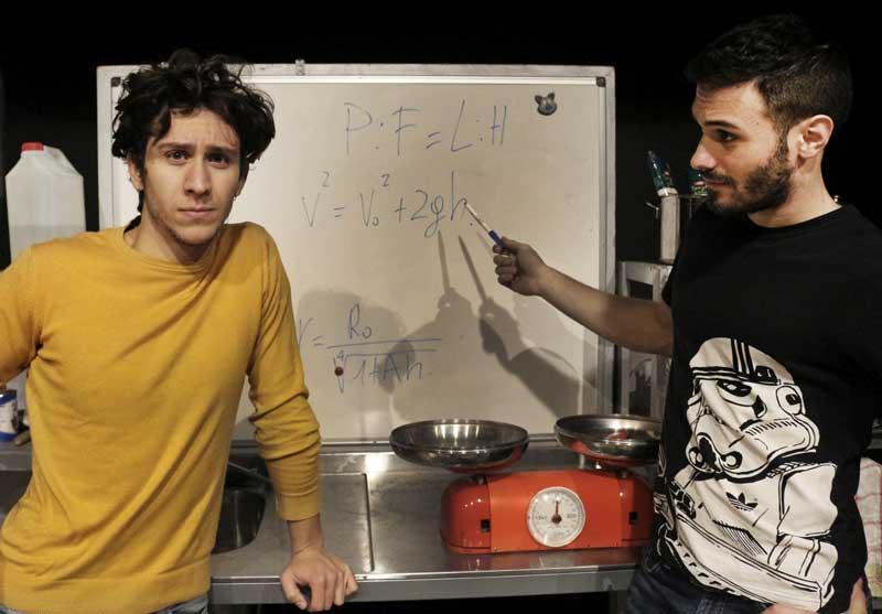 La matematica in cucina con F.Magnani e S.Picchi - Photo by J. Cacharrón Palhares