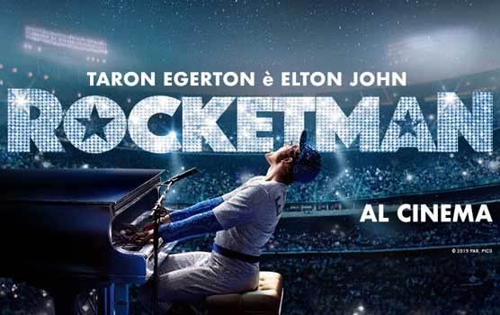 Rocketman banner film