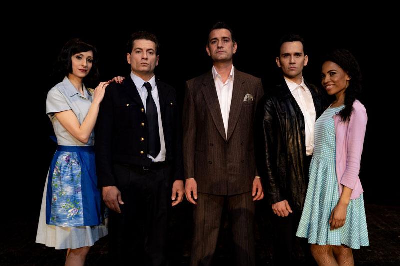 I protagonisti del musical A Bronx Tale - Foto di Sebastiano Maccarone
