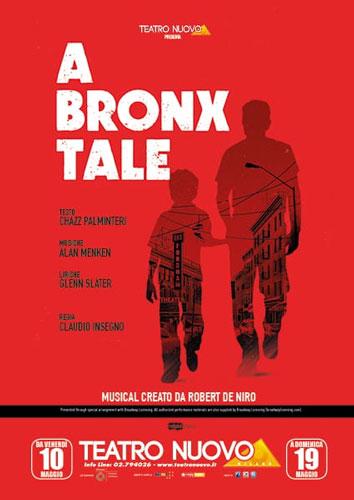 La locandina del musical A Bronx Tale