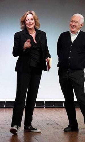 Gillian Bruce e Saverio Marconi alla presentazione di A Summer Musical Festival - Photo: Sarah Pellizzari Rabolini