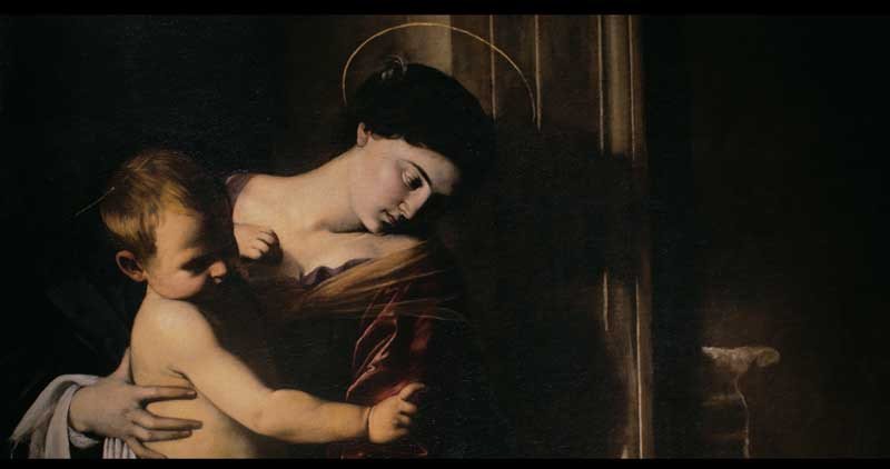 Caravaggio, Madonna dei Pellegrini - Photo: courtesy of Nexo Digital