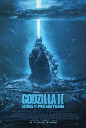 Godzilla 2 - King of the monsters poster film